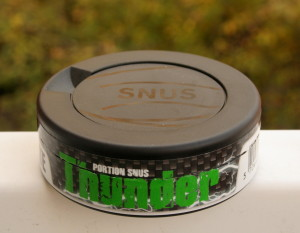 Thunder Wintergreen Extra Strong Snus
