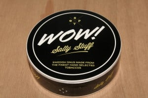 Wow! Salty Stuff Licorice Snus
