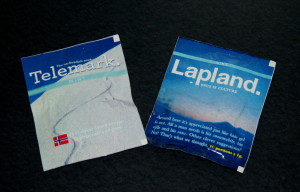 My pouches of Lapland and Telemark snus