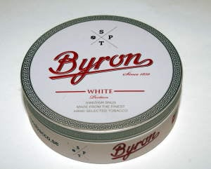 Sp Tobacco Byron White Snus