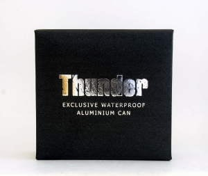 Thunder Aluminum Can in Box