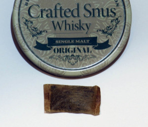 Crafted Snus Whisky