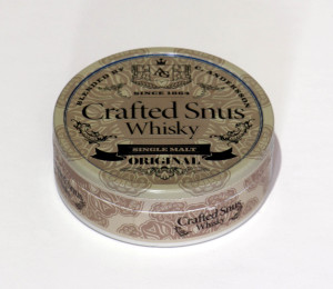 Crafted Snus Whisky Can