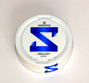 slim cut blue portion snus
