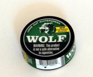 Timber Wolf Wintergreen Can