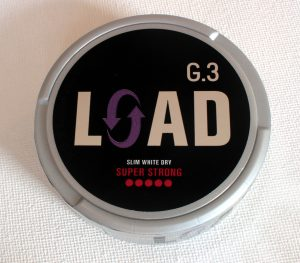G3 Load Super Strong White Dry Snus