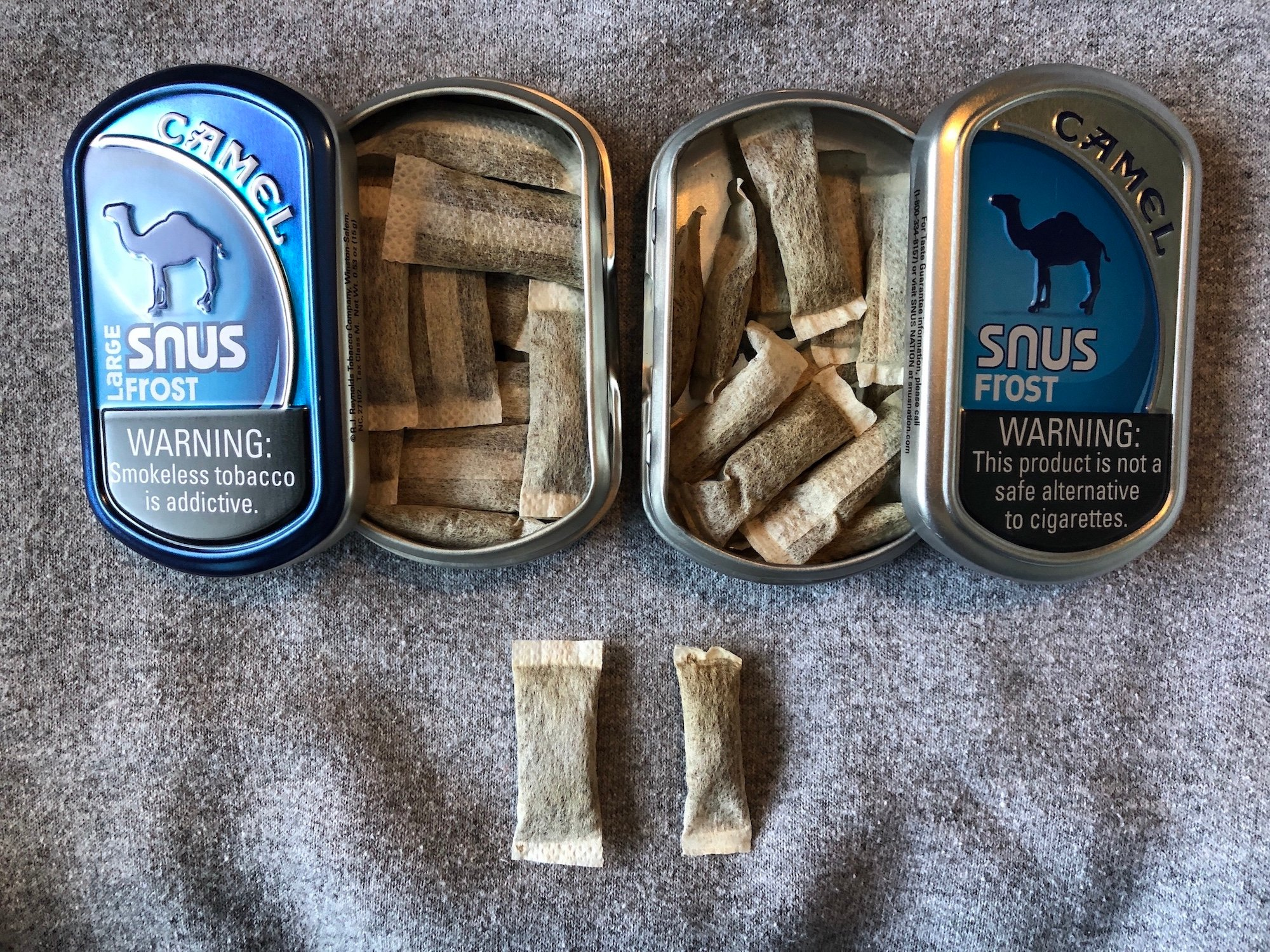 Camel Frost Snus (Regular & Large) Review - The Northerner Blog