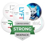 Strong All White Mixpack